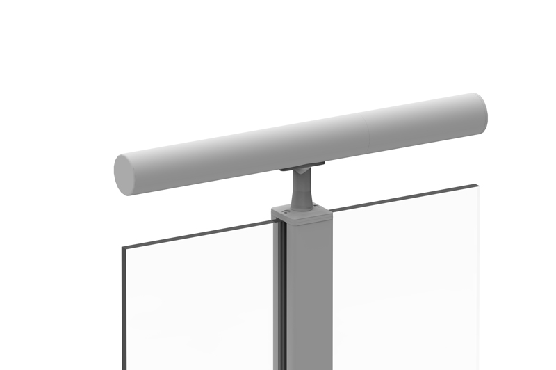 LRTT round, top-mounted handrail style